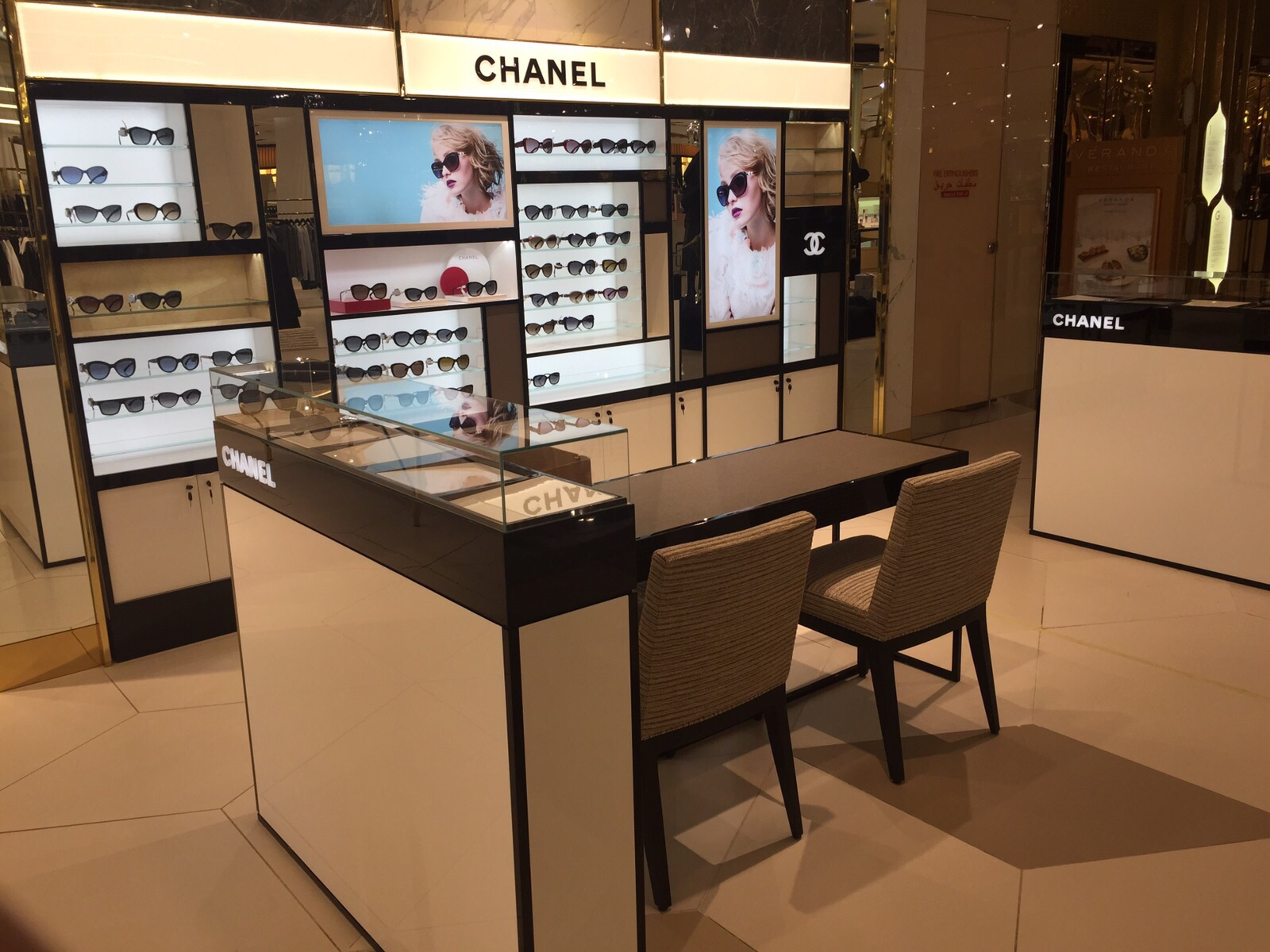 Chanel | Eyewear | 292-16, Chanel, Chanel, Shop-In-Shops, Harvey Nichols | The Avenues | Kuwait City