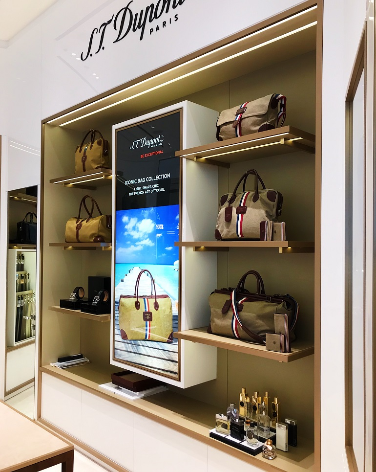 ST Dupont | Accessories | 756-18, 3D Design, Decoration & Display, ST Dupont, Boutiques, The Dubai Mall | Dubai