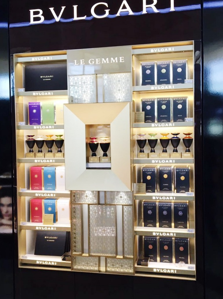 Bvlgari | Perfumes | 174-15, Bvlgari, Bvlgari, Shop-In-Shops, Queen Alia International Airport