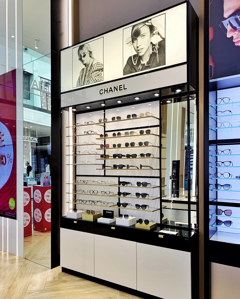 Chanel | Eyewear | F305-19, Luxottica, Chanel, Shop-In-Shops, Al Jaber Optical | Dubai Festival City Mall | Dubai