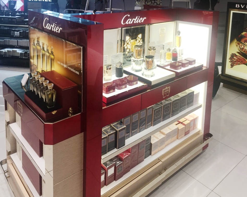 Cartier | Perfumes | 404-16, Cartier, Cartier, Shop-In-Shops, Dubai International Airport