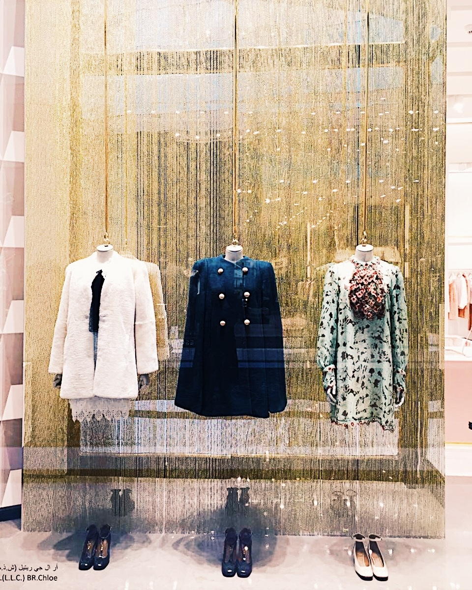 Chloe | Fashion | 639-17, Chloe, Chloe, Window Displays, The Dubai Mall | Dubai