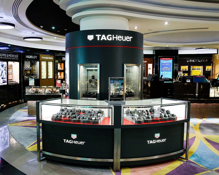 TAG Heuer | Watches | 670-18, TAG Heuer, TAG Heuer, Shop-In-Shops, Dubai International Airport